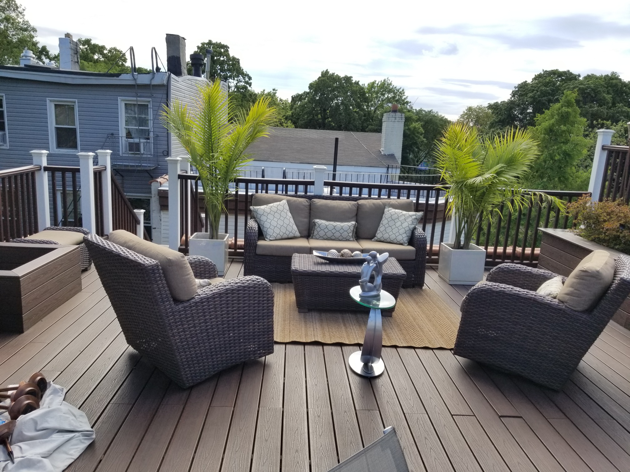 Home of the Month Open Patio