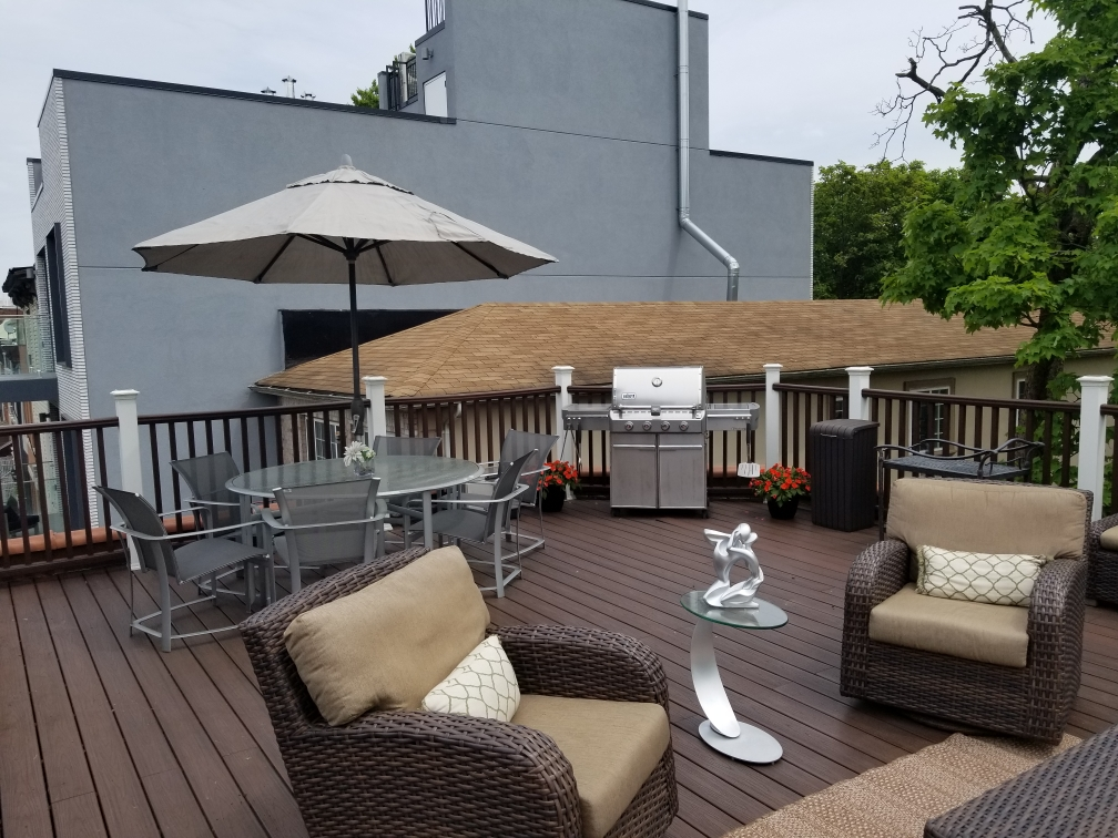 Home of the Month Patio View